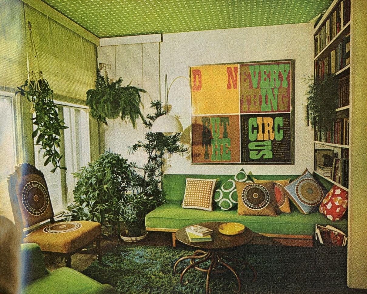 Seventies Kitchen Decor
