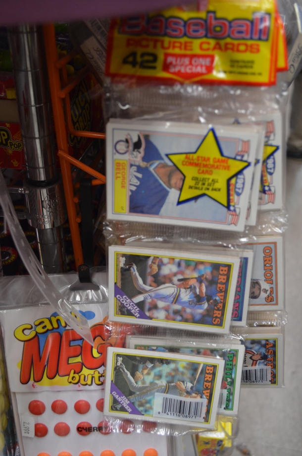 Baseball Cards and Candy Buttons