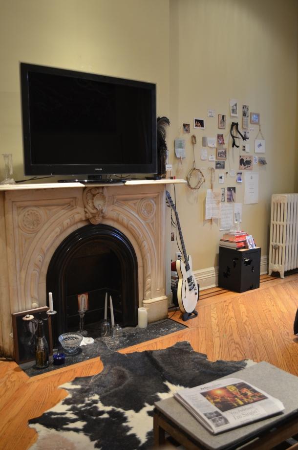 Cumberland Street Marble Fireplace