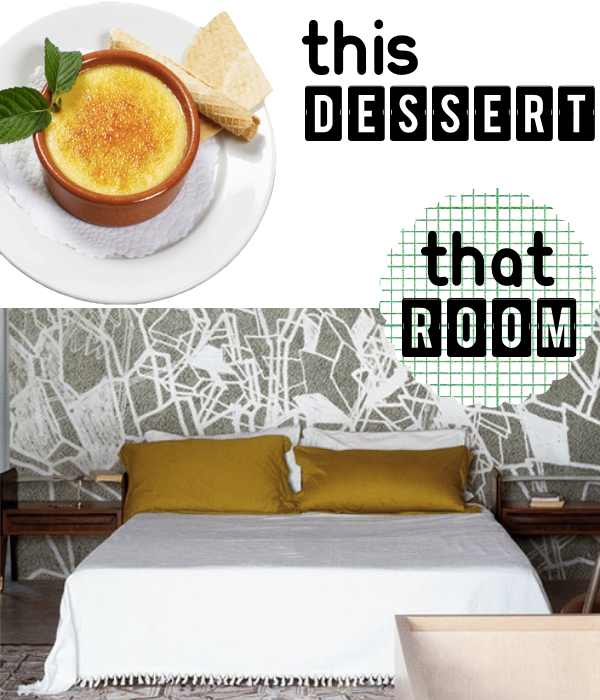 This Dessert That Room