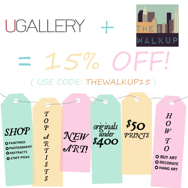 UGallery X TheWalkup Coupon Code