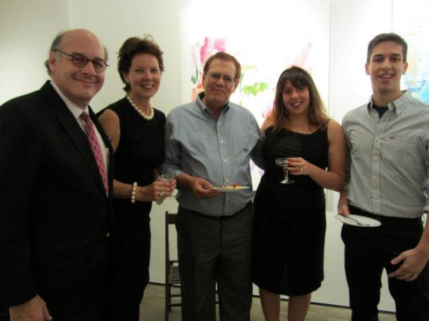 Keren, Moshe (Dad), Jesse, Maryanne and Roger
