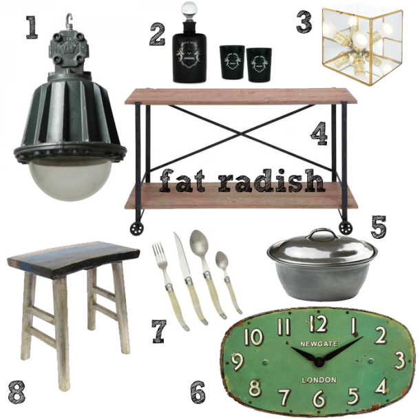 FatRadish Inspired Industrial Decor
