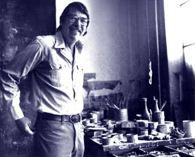 Richard Diebenkorn in Studio