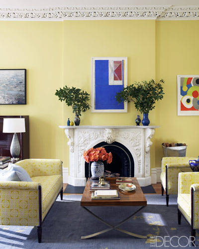 Sheila Bridges in Elle Decor