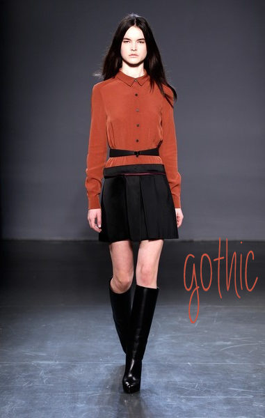 Gothic_Victoria, Victoria Beckham - Prestentation - Fall 2013 Mercedes-Benz Fashion Week
