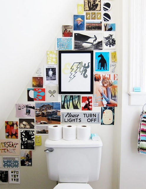Postcard Gallery Wall
