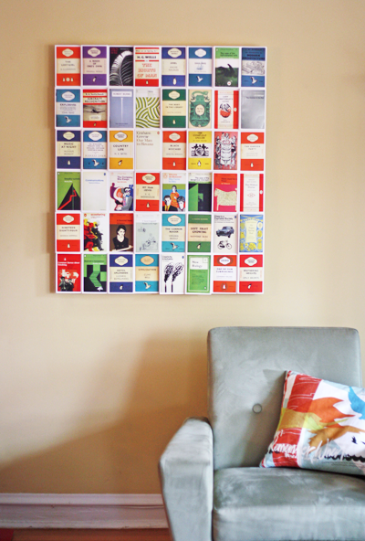 Postcard Wall Display