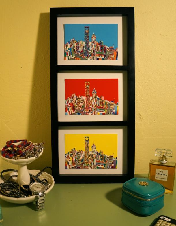 Framed Postcards