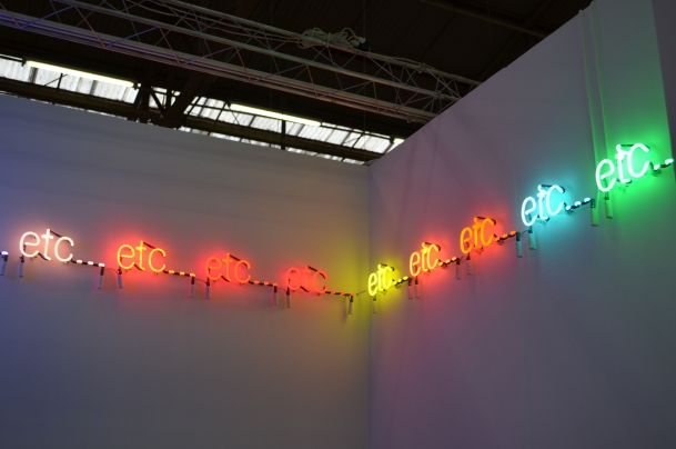 Peter Liversidge, Ingelby Gallery London.