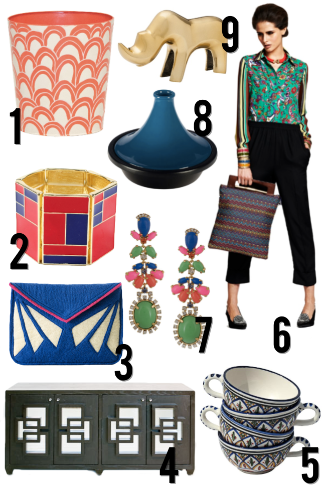 Threshold by Target, Catrinka Project, Lamps Plus,  Duro Olowu JCP, Zinc Door and J. Crew