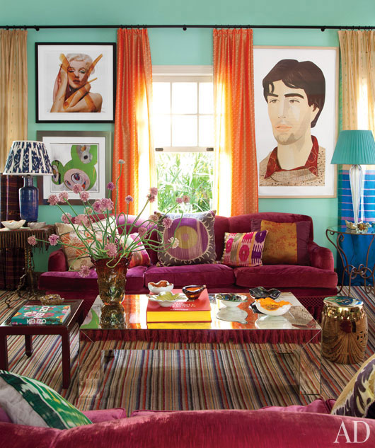 Eclectic Furnishings: The Walkup