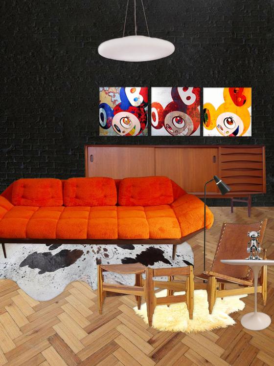Takashi Murakami Room / The Walkup